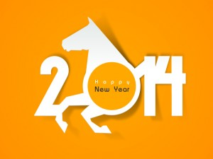 Happy-New-Year-2014-Horsehead-Vector